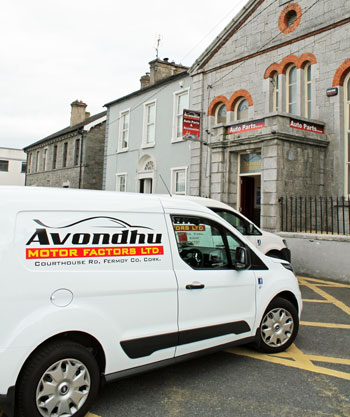 avondhu motor factors vans